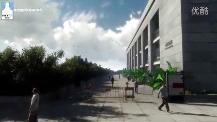 广西南宁东盟国际会展中心建筑动画
