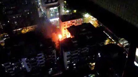 4月30日19点10分深圳福田一民宅着火