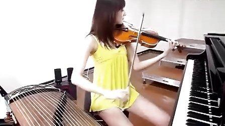 超正點女子一人樂坊演奏