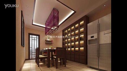 交换空间 中式家装设计概念中式家装风格家装设计视频