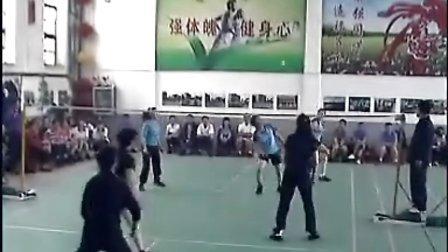 山西省大同市矿务局毽球比赛——大同公园队VS齿轮厂队
