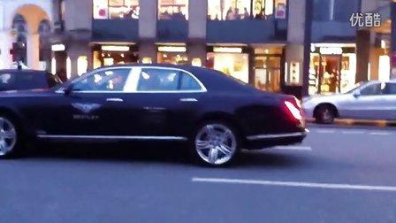 Bentley Mulsanne 宾利慕尚 上路实拍