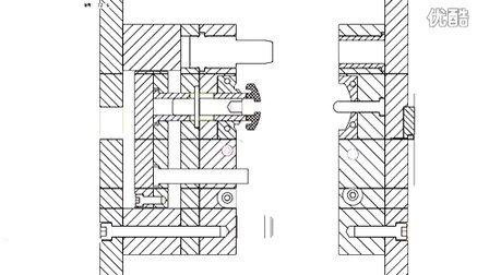 课程设计注塑模具动态仿真(工程图)