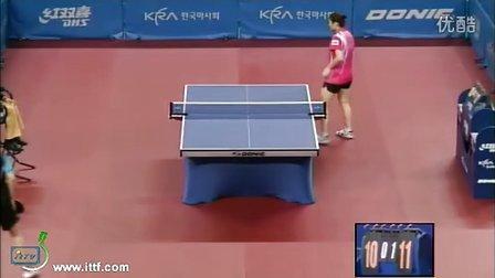 2010韩国站女单第一轮:姜华珺-程易经http:ia3027.getbbs.co