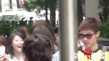 20110610 HJ going to music bank