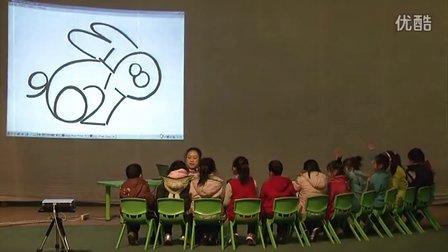 幼儿园上海名师优质大班数学活动《数字捉迷藏》王峥公开课示范课天使