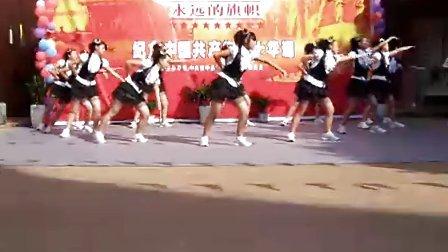 资中县孟塘镇党委庆祝建党90周年活动-舞蹈《沙啦啦》