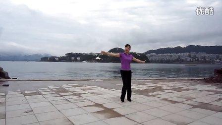 蓝色紫水晶广场舞(蓝色的蒙古高原)