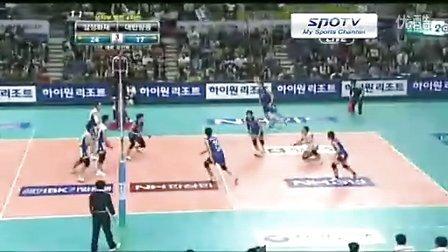 韩国男排联赛决赛