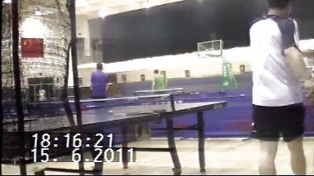 远洋乒乓球训练5(含三爷绝密隐私照,不容错过)