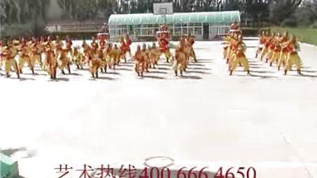 武警固原支队50人威风锣鼓队