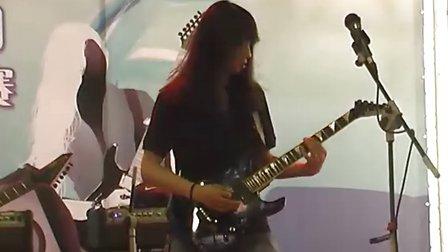 2010 Palm展第五届贝塔斯瑞电吉他暨乐队大赛15号选手比赛视频