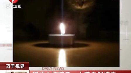 蜡烛上烤猪蹄 小猫自创烤肉 111220 每日新闻报