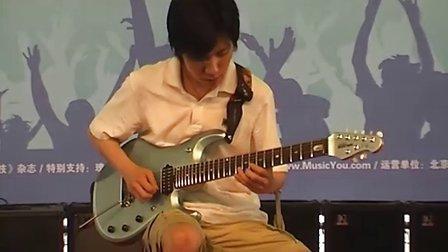 2010 Palm展第五届贝塔斯瑞电吉他暨乐队大赛9号选手比赛视频