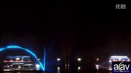 嘉兴七一广场水幕,激光,喷泉