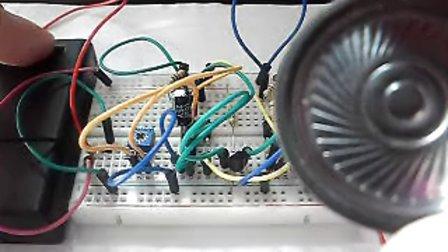 玩转电子制作基础版第26集一起制作:NE555消防车音响电路