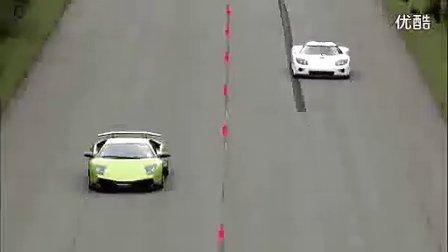 让你先跑:Lamborghini VS Koenigsegg
