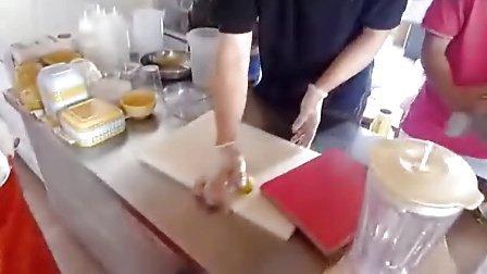 煮糖浆,甜品培训,尝御甜品