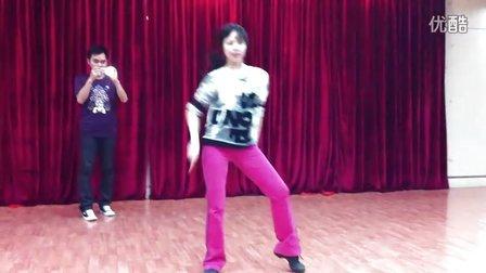 老师教的舞第一段2