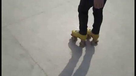 湘南轮滑社自制双排轮教学视频