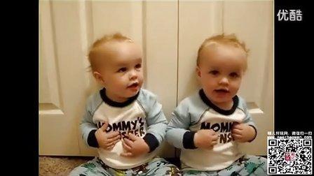 双胞胎兄弟学说话,弟弟总爱敲哥哥的头 【宫汐决】 高清