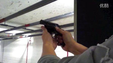 史密斯威森 M36 380 Special警探左轮手枪射击