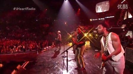 Bruno Mars - Treasure (iHeartRadio 2013) 现场版