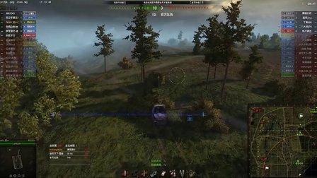 冠一の坦克世界 小中见大的黄鼠狼3两场与T34一场