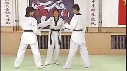 【侯韧杰  TKD  教学篇】之六级段冠军技术