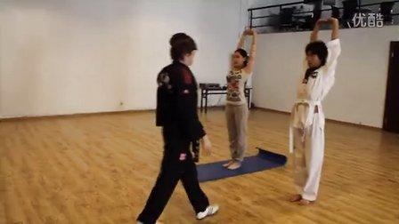 芮歌文化专业表演考前培训-跆拳道 培养学生坚持不懈的精神