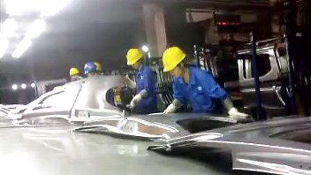 上汽通用五菱汽车冲压件生产过程