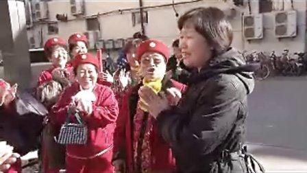 夕阳红宣传队与廊坊日报社新闻工作者共度记者节