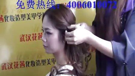 最简单的韩式扎发|专业化妆造型技校|化妆造型培训|学盘头