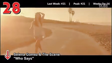 [Billboard]全球单曲数字排行榜Hot100 TOP50 2011.07.16