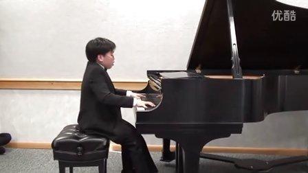 黎卓宇(George Li)弹奏李斯特钢琴曲那不勒斯威尼斯é