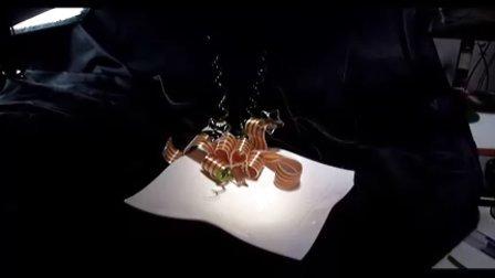 周毅食品雕刻  糖艺光盘 糖艺视频糖艺花艺