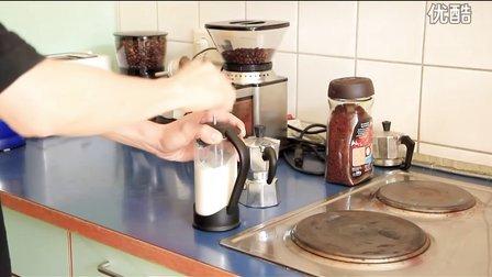 摩卡壶手动奶泡壶 咖啡拉花