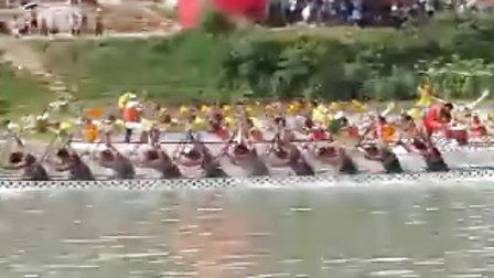 乐清街 yqjiie.com  独家后所龙舟中国龙舟公开赛铜仁站500M——1分51秒36现场