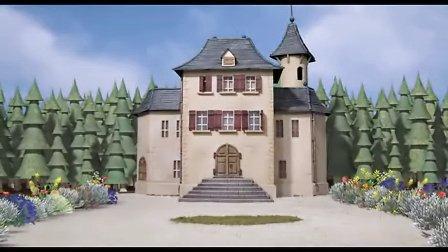 背景大部分是扣图合成的Citrouille et vieilles dentelles-定格动画论坛