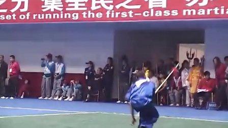 侠家枪--秦镇宇 武当山比赛