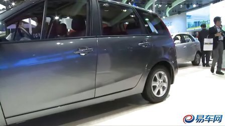 2011上海车展 东风汽车景逸展示