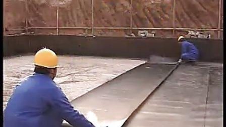 防水工(上) 建筑业农民工业余学校培训教学视频