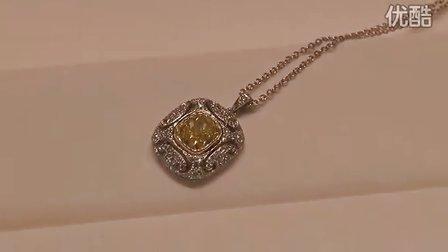 蒂芙尼珍稀纯美全新黄钻珠宝系列预展