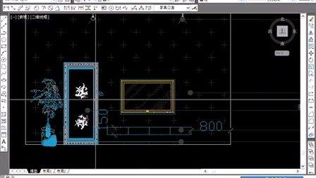 3dmax教程入门到精通 cad导模画墙体