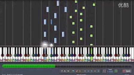 天使爱美丽插曲 钢琴曲 Synthesia Piano