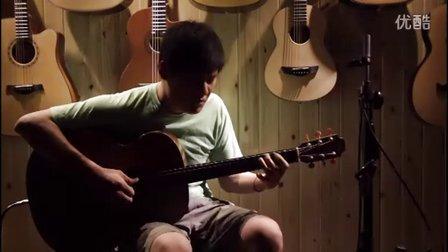 湖南长沙指弹吉他群友会6,何康表演《最后一部蒸汽机车》