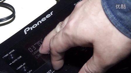 【89dj】先锋 pioneer CDJ350第三课液晶显示屏信息