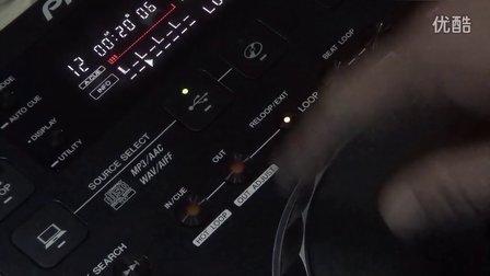 【89dj】先锋 pioneer CDJ350第六课loop设置以及自动loop