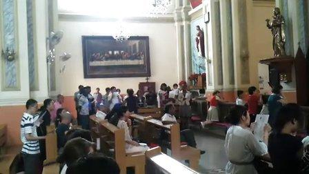 天津西开教堂 20110710 教会歌曲1