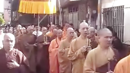 佛教当代大师 戒德老法师 圆寂 之 封龛移灵 (3)